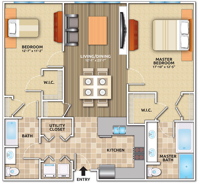 Apartments & Pricing